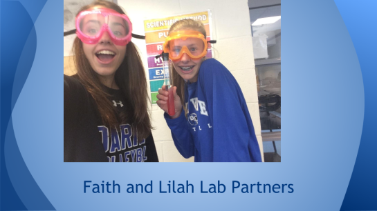 faith and lilah lab partners