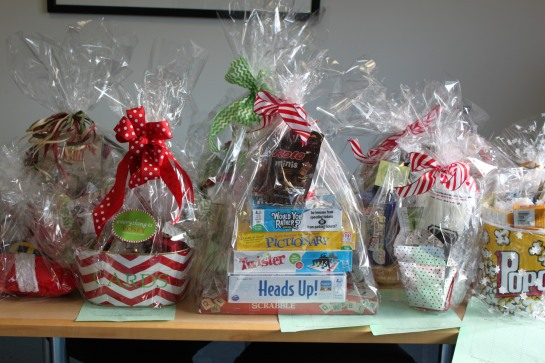 Holiday Auction items