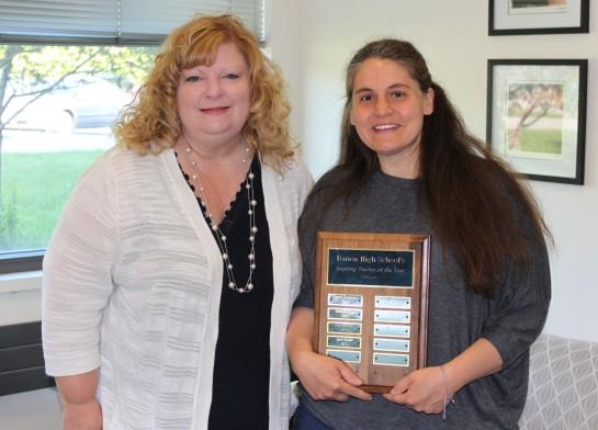inspirational teacher award